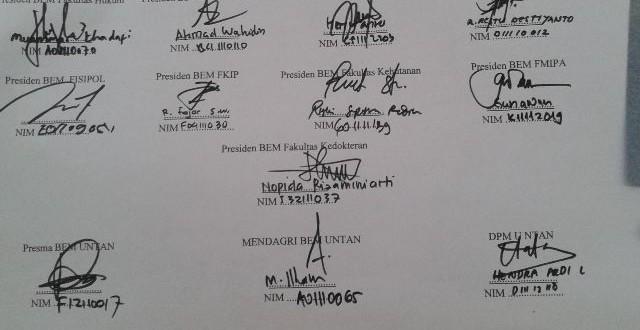 ilustrasi deklarasi PMB Damai